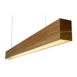 Линейные светильники из дерева