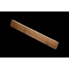 Светильник Wooden 20 из массива (грецкий орех) длина 800мм, высота 140мм, 8Вт