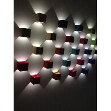 Светодиодные настенные светильники для декоративной подсветки стен