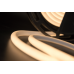 Термолента светодиодная SMD 2835, 180 LED/м, 12 Вт/м, 24В , IP68, Цвет: Теплый белый