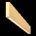 Светильник Wooden 20 из массива (ясень белый) длина 800мм, высота 140мм, 8Вт