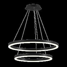 LED светильник потолочный P0092002A-BL-WW Черный, 50Вт, 3000К, 3184 Лм