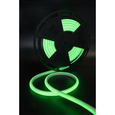 Термолента светодиодная SMD 2835, 180 LED/м, 12 Вт/м, 24В , IP68, Цвет: Зеленый, LL-NE8180-24-12-G-68