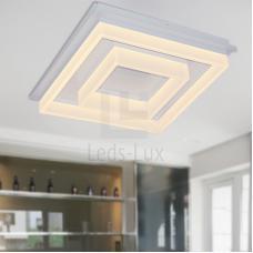 Купить  Светодиодная led люстра квадратная 40 Ватт LL-MX6802-530